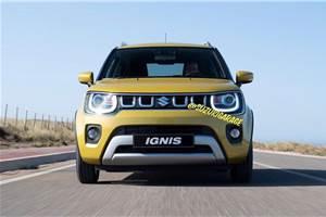 Suzuki Ignis facelift leaked