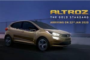 Tata Altroz India launch on January 22