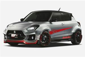 Suzuki Swift Sport Katana Edition to be showcased at Tokyo Auto Salon 2020