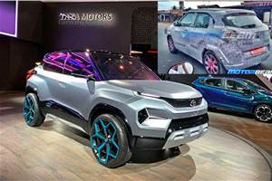 Production-spec Tata H2X spied ahead of Auto Expo unveil