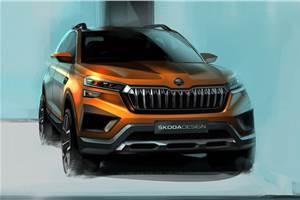 Skoda Vision IN exterior sketches revealed