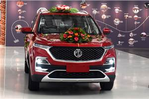 BS6 MG Hector diesel prices to be up by around Rs 1.25 lakh