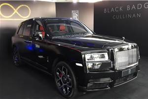 Rolls-Royce Cullinan Black Badge launched at Rs 8.20 crore