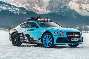 Bentley Continental GT W12 Ice Racer revealed