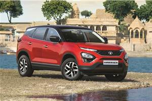 BS6 Tata Harrier automatic bookings begin