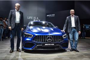 Mercedes-AMG GT 4-Door Coupé launched at Auto Expo 2020