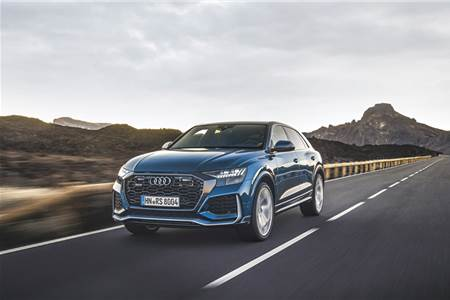 Audi RS Q8 review, test drive