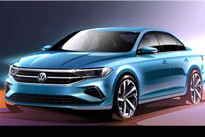 Next-gen Volkswagen Polo sedan sketches revealed