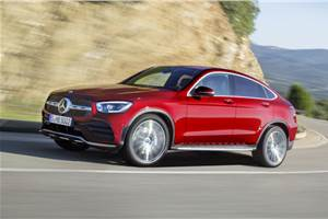 Mercedes-Benz GLC Coupe facelift India launch on March 3