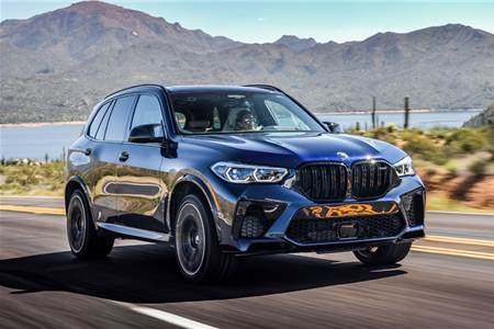 2020 BMW X5 M Competition review, test drive