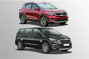 Kia Seltos, Carnival cumulative sales cross 75,000 units in 7 months