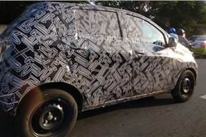 Datsun Redigo facelift spy shots indicate major updates