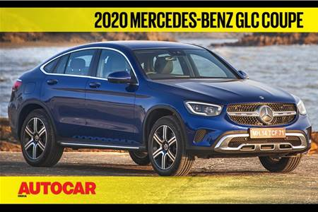 2020 Mercedes-Benz GLC Coupe India video review