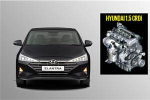 115hp Hyundai Elantra BS6 diesel to have three variants