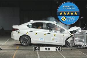 New Honda City gets 5-star ASEAN NCAP rating