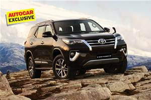 Limited-edition Toyota Fortuner set for launch