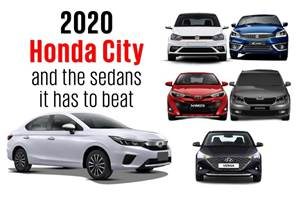 2020 Honda City and the sedans it has to beat