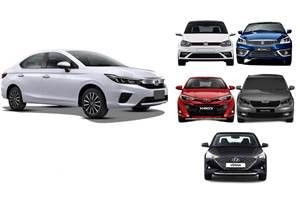 2020 Honda City and the sedans it has to beat