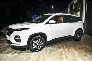 3-row MG Hector Plus to launch in June 2020