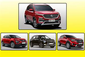 BS6 MG Hector diesel vs rivals: Price comparison