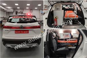 MG donates Hector ambulance for COVID-19 patients