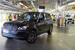 JLR rolls out first Range Rover produced under social distancing measures