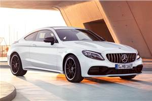 Mercedes-AMG C 63 Coupe, updated GT R launched in India