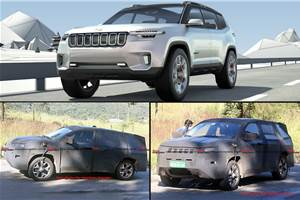 Spied: 7-seat Jeep Compass could get more powerful diesel engine