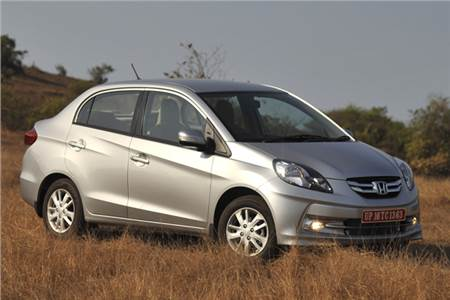 Honda Amaze photo gallery