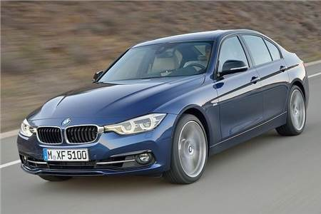 2015 BMW 3-series facelift photo gallery