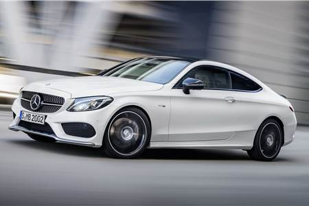 Mercedes-AMG C43 coupe photo gallery