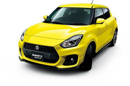 Next-gen Suzuki Swift Sport gallery