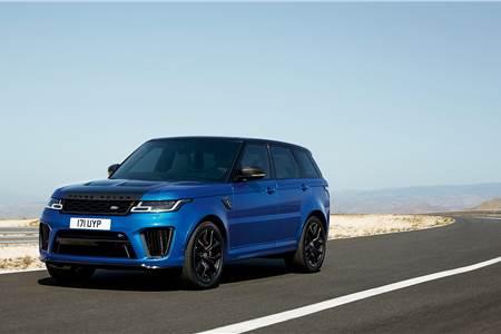 2018 Range Rover Sport SVR facelift image gallery