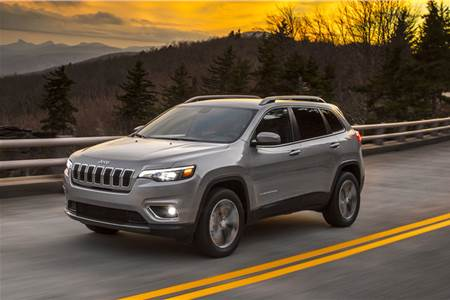 Jeep Cherokee facelift image gallery