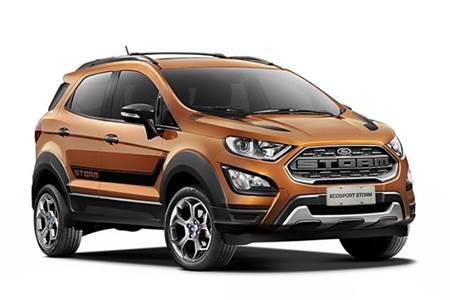 2018 Ford EcoSport Storm image gallery