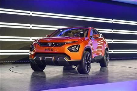 2018 Tata H5X SUV concept image gallery