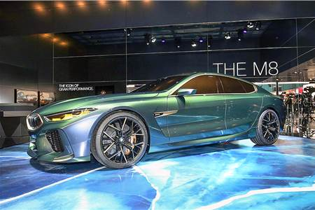 BMW Concept M8 Gran Coupe image gallery