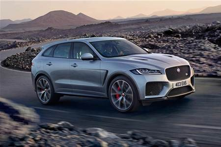 2018 Jaguar F-Pace SVR image gallery