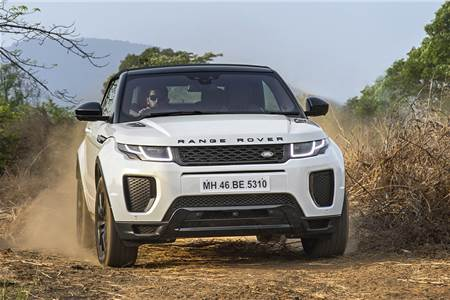 Range Rover Evoque Convertible India image gallery