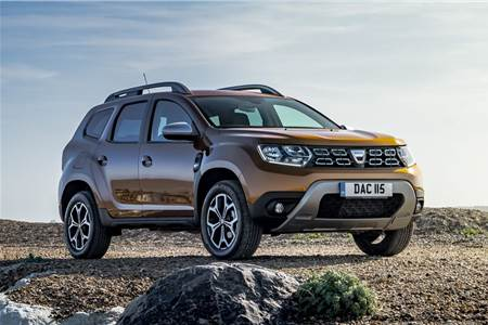 New 2018 Renault Duster image gallery