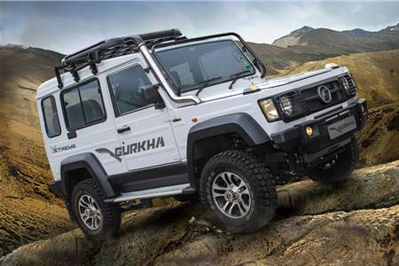 2018 Force Gurkha Xtreme image gallery