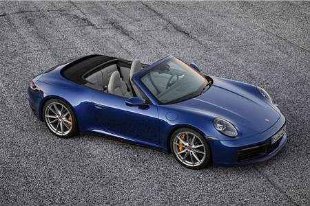 2019 Porsche 911 Cabriolet image gallery