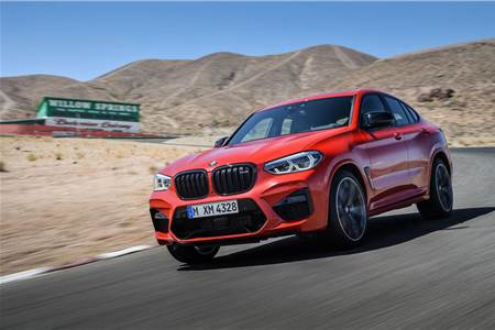 BMW X4 M Competition image gallery