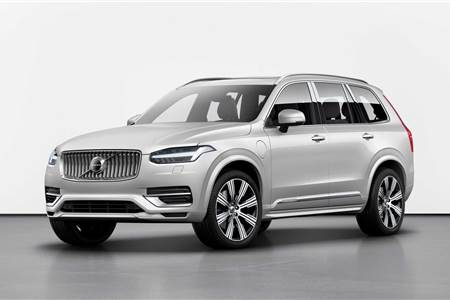 Volvo XC90 facelift image gallery