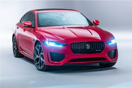 Jaguar XE facelift image gallery