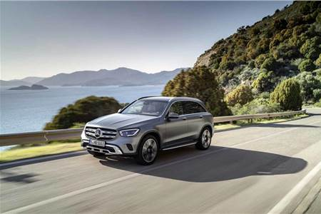 Mercedes-Benz GLC facelift image gallery