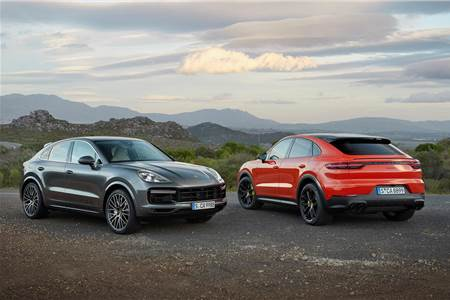 Porsche Cayenne Coupe image gallery