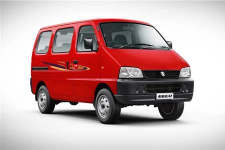 Updated Maruti Suzuki Eeco image gallery