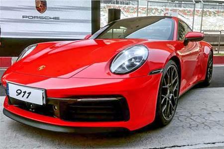 New Porsche 911 image gallery