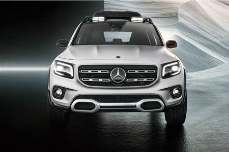 Mercedes-Benz GLB concept image gallery